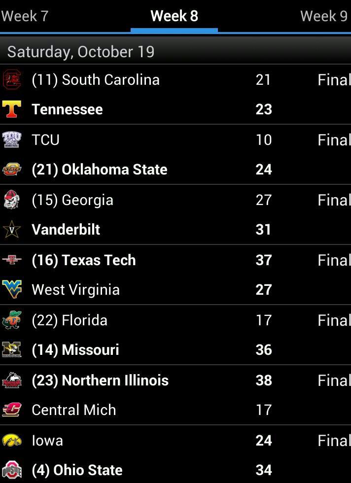 cbs college football scoreboard top 10 college football scores