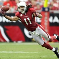 Cardinals Larry Fitzgerald youngest player in NFL history to reach 800 career receptions!!