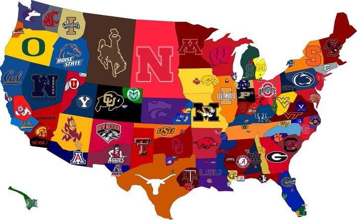 football team map football weekend
