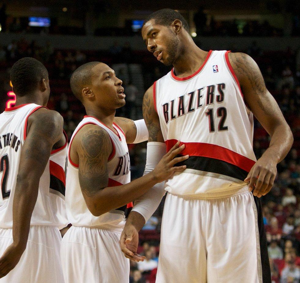 Portland Trail Blazers Team Stats