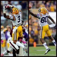 LSU WR's Odell Beckham Jr and Jarvis Landry both declare for 2014 NFL Draft